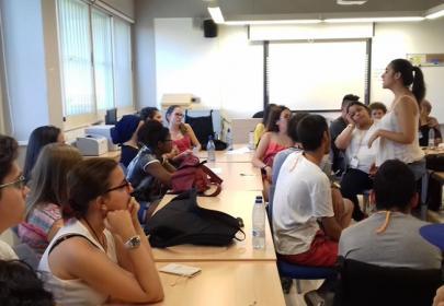 Participantes en el taller ¿Qué supone ser universitario?