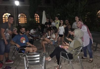 Los participantes se conocen en la primera noche de INnetCampus