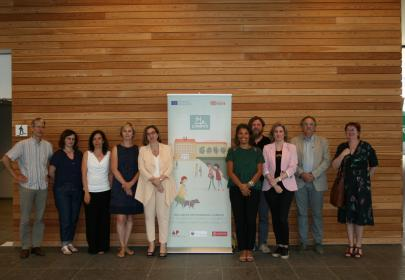 Equipo de organización en la Conferencia final de Amberes, Bélgica