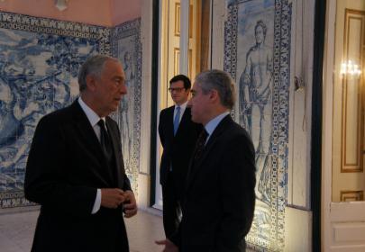 INnetCampus Lisboa 2017. Recepción primer ministro de Portugal.