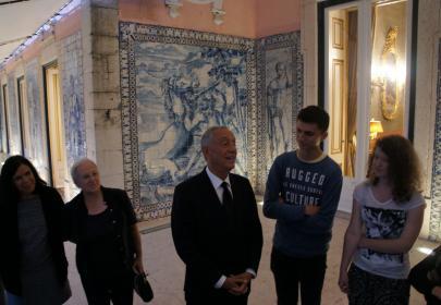 INnetCampus Lisboa 2017. Recepción primer ministro de Portugal