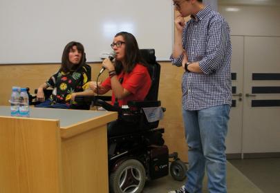 INnetCampus Lisboa 2017. Testimonios estudiantes universitarios con discapacidad.