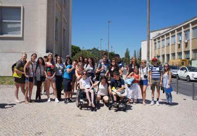 Grupo participantes INnetCampus Lisboa 2017.