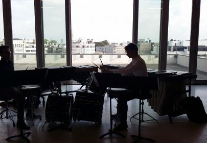 Contemporary music workshop INterCampus AP College Antwerp
