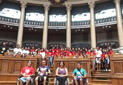 Visita al parlamento portugués